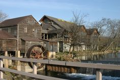 The Old Mill in Pigeon Forge, TN - We eat at this awesome restaurant every time we go to Gatlinburg. It is home cooking at it's best!! The country fried steak is out of this world!!!