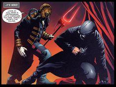 Spider-Man Noir vs. Karn in Edge of Spider-Verse: Spider-Man Noir