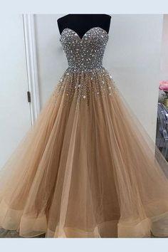 Prom Dress Plus Size, 2018 Prom Dress, Long Prom Dress, A-Line Prom Dress, Prom Dresses 2019 #PromDressPlusSize #2018PromDress #LongPromDress #ALinePromDress #PromDresses2019