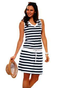 Euro Design Ladies Casual Cotton Summer Beach Cover-up Sun Dress $15.99 (save $19.00)