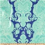 Amy Butler Love Laminated Sandlewood Periwinkle