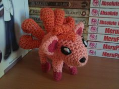 A wild pattern appeared! Lydia used 'Crochet'. It's super effective! Yes, another Pokémon pattern, simply because they are all so very lovely to make ^_^ I've got a few more up my sleeve, but for n...