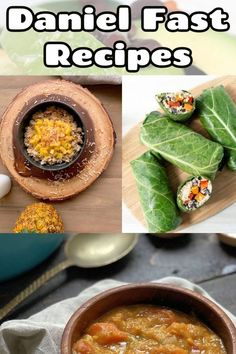 You know how healthy the Daniel Fast is, but did you know there are actually a lot of really delicious recipes for the fast? These are perfect for lunch and dinner, and I've also got suggestions for breakfasts and snacks. The key is being prepared with recipes on hand! Delicious Recipes, Diet Recipes, Yummy Food, Quick Healthy Meals, Healthy Eating, Daniel Fast Recipes, Lunches And Dinners, Key, Snacks