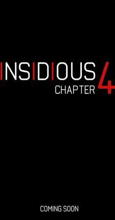Directed by Adam Robitel. With Josh Stewart, Javier Botet, Bruce Davison, Kirk Acevedo. Plot unknown. The fourth installment of the 'Insidious' franchise.
