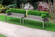 Gardening - Google+ - Interesting garden bench! …