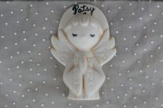 An Angel for Patsy Vintage 1970s Christmas Ornament from San Antonio