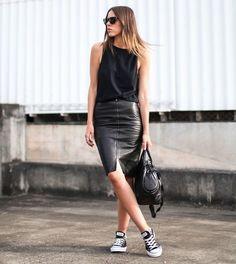 7 maneiras de usar saia lapis que vão deixar seu look mais style