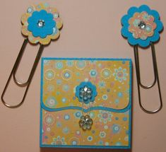 Post-it Note Holder Free Cut Files by Mary*MI - Cards and Paper Crafts at Splitcoaststampers