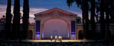 The Redlands Bowl, an outdoor amphitheater where free concerts are presented in the summer. Skyler used to volunteer there when he was off from school.