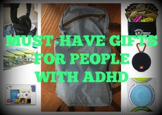 7 Must-Have Gifts for People with ADHD... http://adhdboss.com/gifts-people-adhd/ (Yes, you're allowed to give yourself a gift). #ADHD #ADD #Anxiety