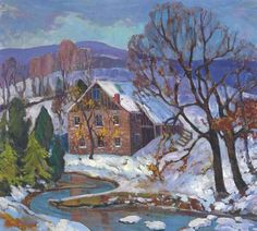 Fern Coppedge (1883-1951) received numerous awards during her career. She was associated with the New Hope (Pennsylvania) School of America Impressionism. Ackerman's Fine Art is proud to be buying and selling her artwork.