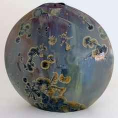 Alain Fichot: Crystalline vase