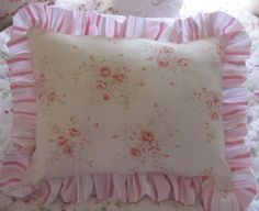 shabby chic pillows - Google Search