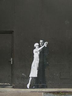 ¤ Leo & Pipo -Street Art rue de Viarmes in Paris.