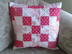 Patchwork Cushion Tilda Fabrics