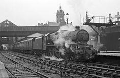 Nottingham Victoria Diesel Locomotive, Steam Locomotive, Steam Railway, Old Trains, British Rail, Train Journey, Steamers, Steam Engine, Train Tracks