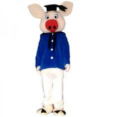 Pig Doctor Mascot Costume Pig Costumes, Mascot Costumes, Adult Costumes, Adult Children, New Product, Puppets, Smurfs, Cartoon, Disney Princess
