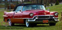 """Bad Girl"" - our famous 1955 Cadillac Eldorado restoration. http://www.cprforyourcar.com/1955_cadillac_eldorado_restoration/"