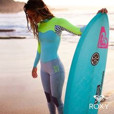 Cute wetsuit for cooler water paddle boarding