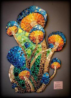 Melisa Sonneborn - ||| VILLA GESELL EN LA WEB ||| Mosaic Artwork, Mosaic Wall Art, Mosaic Diy, Mosaic Crafts, Mosaic Projects, Tile Art, Mosaic Glass, Glass Art, Stained Glass Patterns