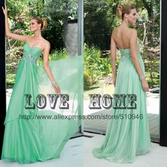 2013 New arrival off shoulder sweetheart floor length empire mint green prom dress-in Prom Dresses from Apparel  Accessories on Aliexpress.com $136.00