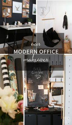 one room makeover challenge shared at Katherines Corner