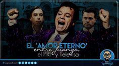 El 'Amor Eterno' entre Juan Gabriel, el PRI y Televisa