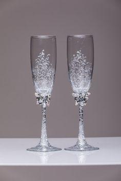 copas de boda personalizada tostado flautas silvcer gafas