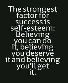 Success and believing in yourself quotes