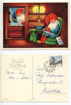 Wimo Christmas Gnome, Leprechaun, Goblin, Gnomes, Troll, Sweden, Scandinavian, Ebay, Elves