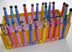 An idea on Tuesday: Perfect Little Peg People