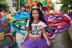 Balloon wings for parades or other events!