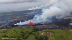 Hawaiian Lava Coming For Geothermal Plant: Doomed. The latest volcano update video shows the lava from Fissure 22 is now crossing onto PGV land and is alread. Weather Alerts, Lava, Hawaiian, World, Youtube, Plants, Travel, Ideas, Viajes