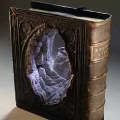 Carved Book Sculptures