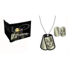 Bioworld Merchandising - Halo pack combo porte-monnaie et Dog Tag Master Chief