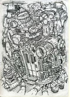 biomechanics t_shirts art time machine Автор Любимов Алексей/Autor Alexei Lubimov Машина времени.