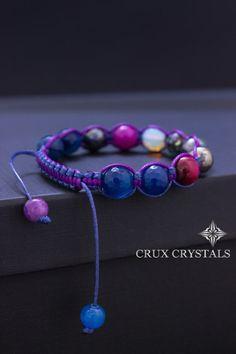 CARNIVAL Friendship Bracelet BFF bracelet Gemstone Shamballa