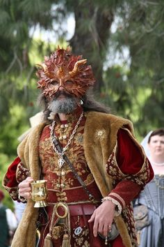 Forest king renaissance costume