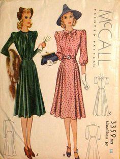 1939 Day dress