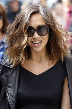 Pin for Later: Your Ultimate Guide to the Bob: Long, Short, or in Between Myleene Klass Growing Out A Bob, Growing Out Short Hair Styles, Long Hair Styles, Balliage Hair, Cut My Hair, Hair Cuts, Myleene Klass Hair, Best Bob Haircuts, Best Bobs