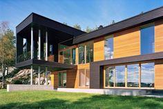 Villa Storingavika fue diseñado por el estudio de Bergen-basada en la arquitectura Saunders y está situado en las afueras de Bergen, Noruega. Especialmente