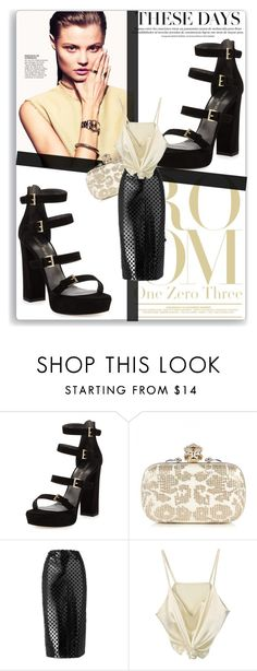 """""""Untitled #1620"""" by thestrawberryfields ❤ liked on Polyvore featuring Stuart Weitzman, Alexander McQueen and McQ by Alexander McQueen"""