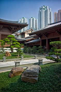 Chi Lin Nunnery, Kowloon, HK