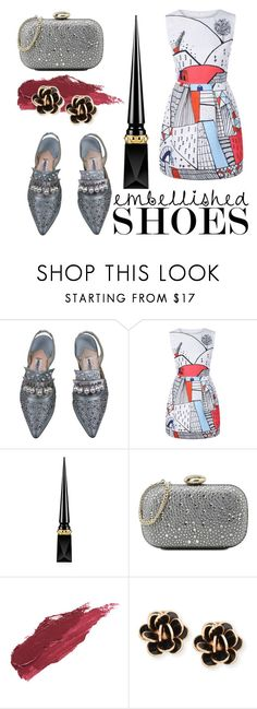"""""""Untitled #212"""" by sara-globevnik ❤ liked on Polyvore featuring Manolo Blahnik, Christian Louboutin, Love Moschino, Lily Lolo and Chantecler"""
