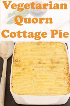 Vegetarian Quorn cottage pie is full of veggie goodness and flavour. This healthy meat free recipe is low in calories so if you're watching your weight or just looking for a delicious quick healthy meal, you've come to the right place! Healthy Meats, Quick Healthy Meals, Healthy Dinner Recipes, Quorn Recipes, Pie Recipes, Lasagna Recipes, Vegetarian Meals For Kids, Kids Meals, Vegetarian Kids Recipes