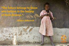 """""""The future belongs"""