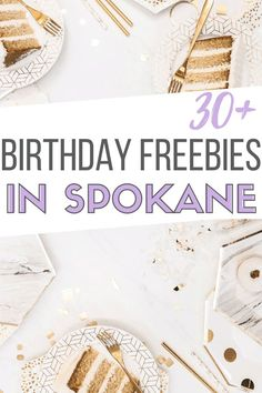 Looking for birthday freebies in Spokane, WA? We've done the work for you and put together an epic list of birthday freebies in Spokane here! Birthday Email, Birthday Rewards, Birthday Club, Half Birthday, Birthday Month, 30th Birthday, Freebies On Your Birthday, Birthday Treats