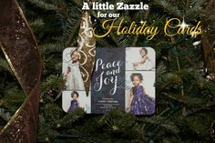Beauty and the Bump: A little @Zazzle for our Holiday Cards #Holiday2014 #Christmas #DIY #Family