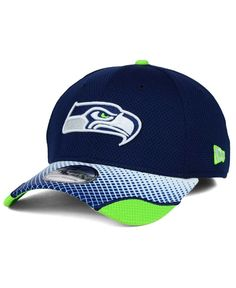 New Era Seattle Seahawks Screen Vize 39THIRTY Cap Men - Sports Fan Shop By  Lids - Macy s 50edccc4c