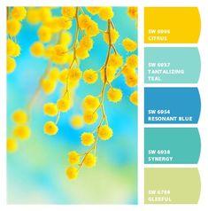 New ideas for kitchen colors schemes turquoise colour palettes New ideas for kitchen color schemes Turquoise color palettes Color Schemes Colour Palettes, Kitchen Colour Schemes, Colour Pallette, Color Combos, Summer Colour Palette, Best Colour Combinations, Yellow Color Schemes, Kitchen Color Palettes, Pantone